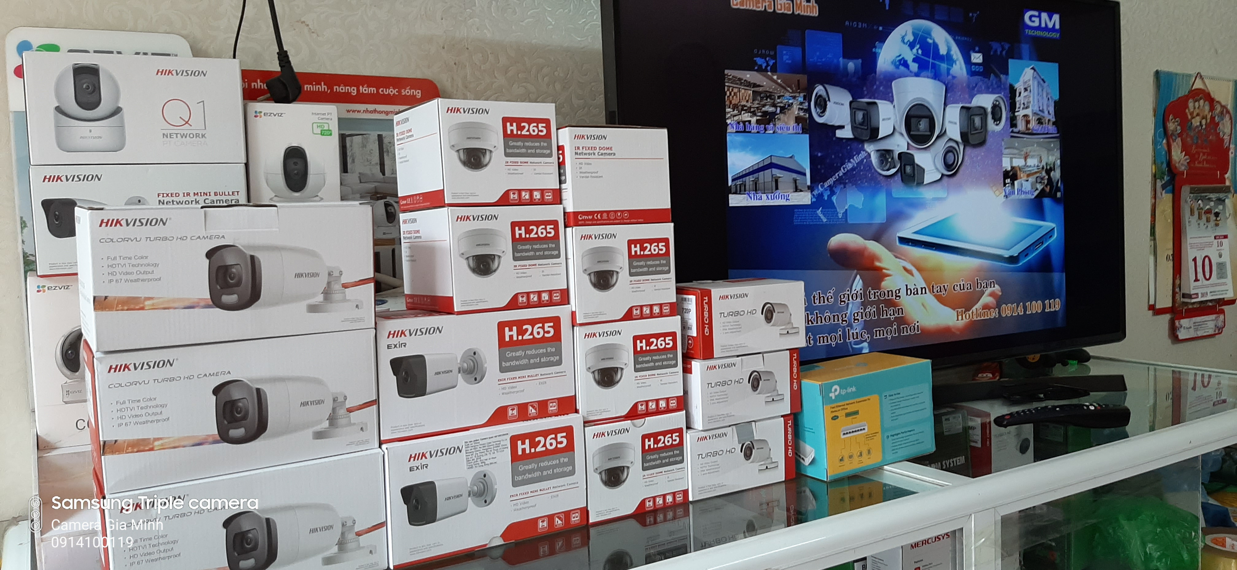Camera Hikvision Hải Phòng